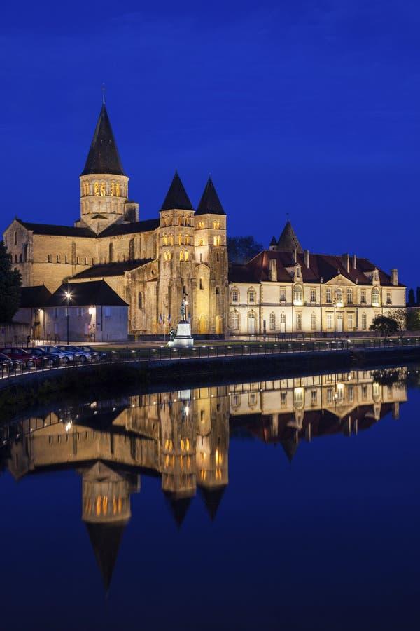 Basílica del Paray-le-Monial foto de archivo libre de regalías