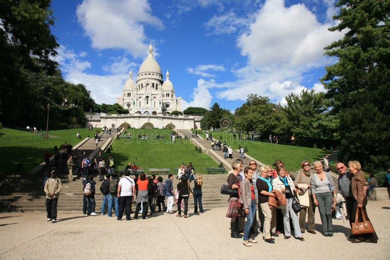 Basílica del Sacre CÅur fotos de archivo libres de regalías