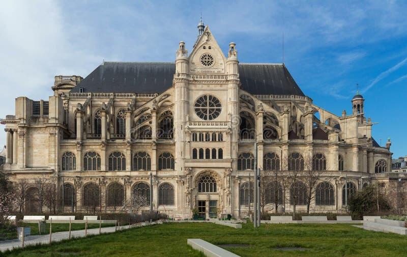 Basílica del santo Clotilde, París, Francia imagenes de archivo