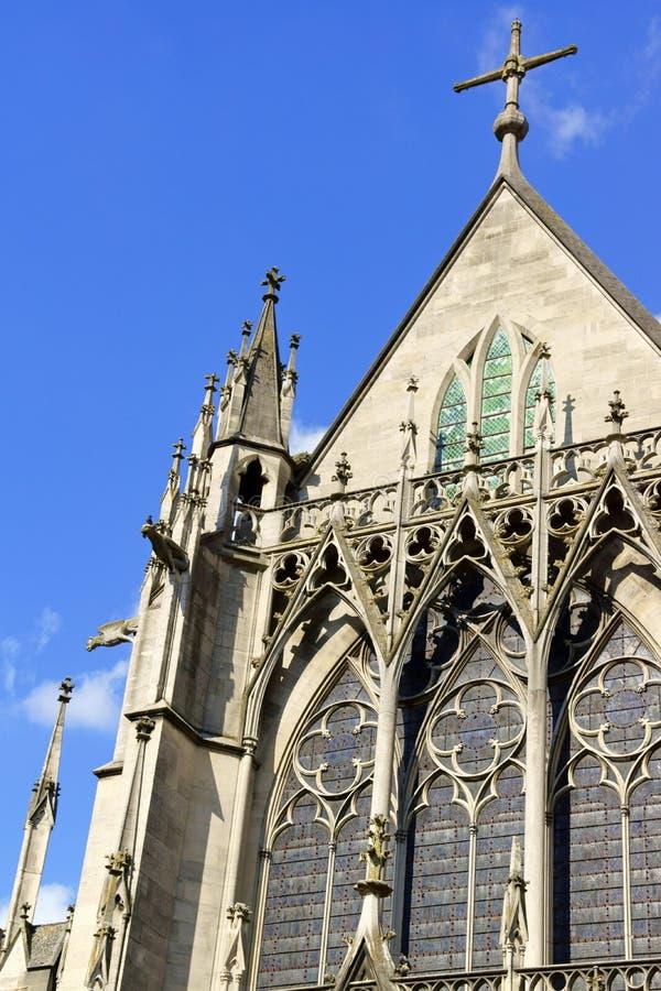 Basílica del santo-Urbain en Troyes, Francia imágenes de archivo libres de regalías