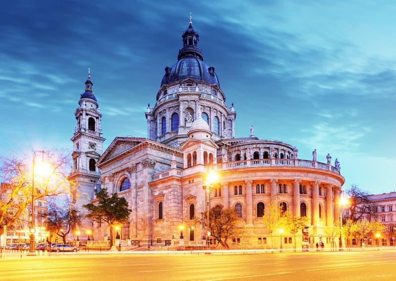 Basílica del St Stephen en Budapest fotografía de archivo libre de regalías