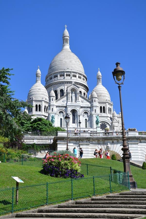 """Basílica del ur de Sacré-CÅ """"en París, Francia foto de archivo"""