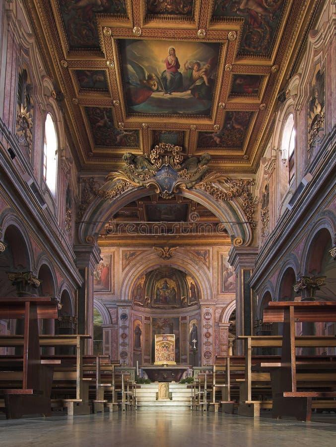 Basílica di San Bartolomeo imagem de stock