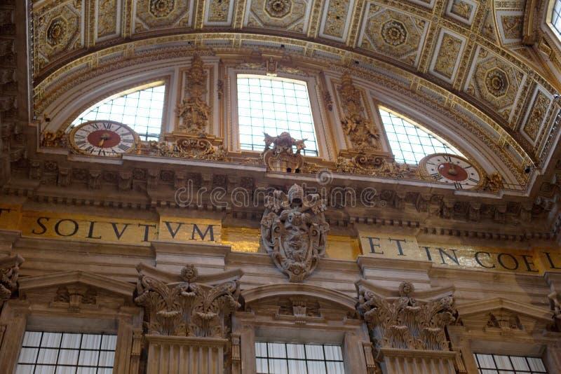 Basílica di San Pietro fotografia de stock