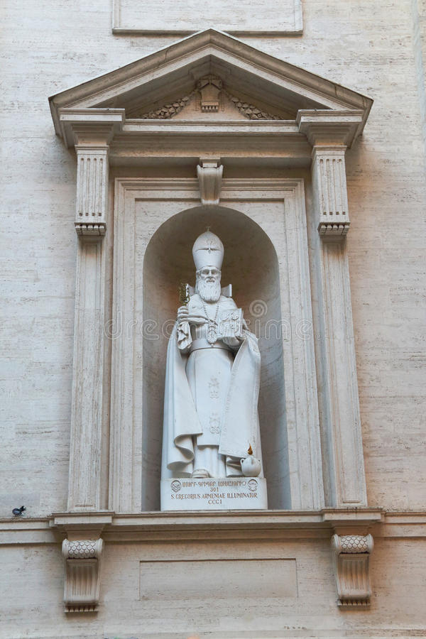 Basílica di San Pietro em Vaticano foto de stock royalty free