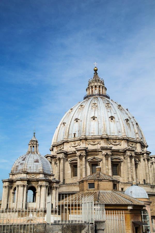 Basílica di San Pietro no Vaticano imagens de stock