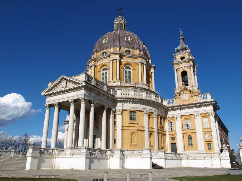 Basílica di Superga, Turin fotografia de stock royalty free