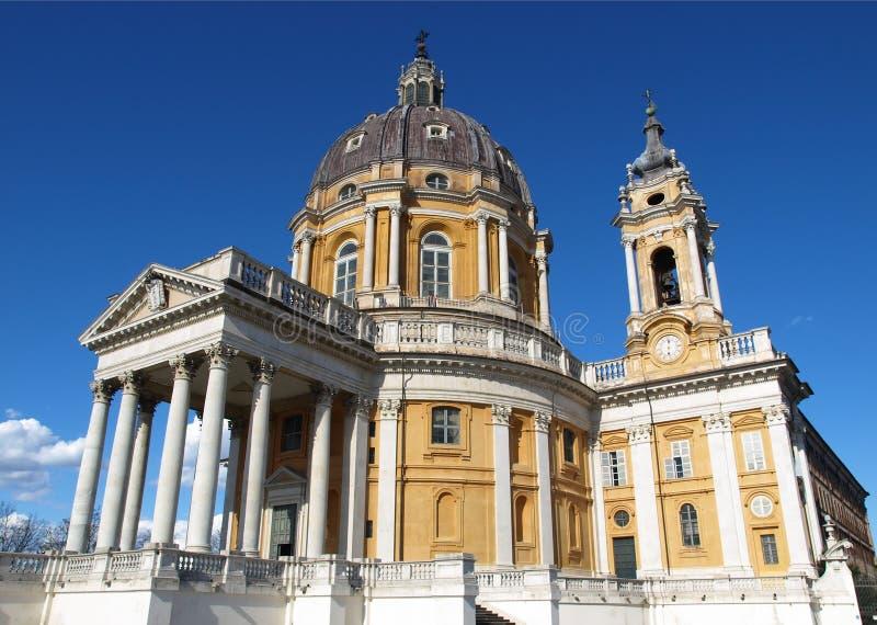 Basílica di Superga, Turin fotos de stock