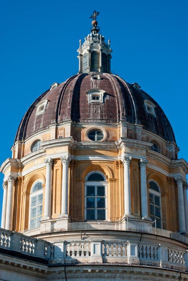 Basílica di Superga, Turin, Italy imagem de stock royalty free