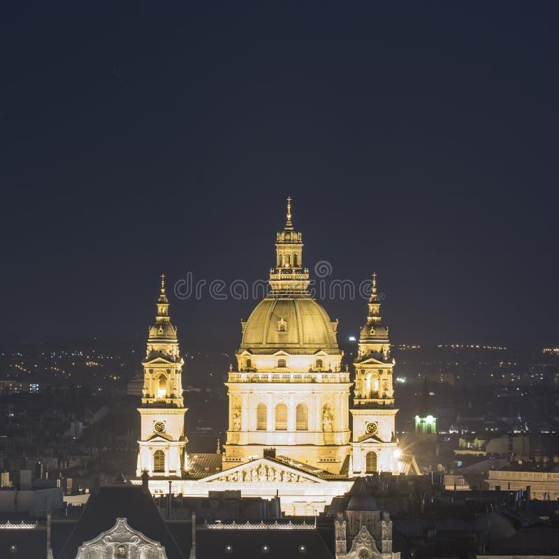 Basílica do ` s de St Stephen em Budapest fotografia de stock