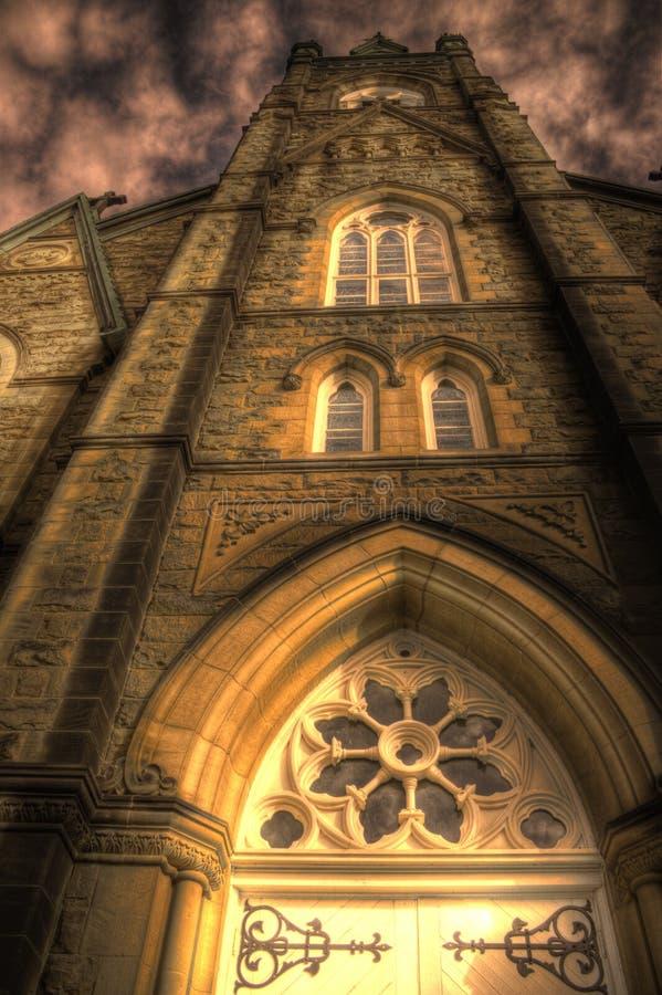 Basílica do St Michaels, Miramichi, Novo Brunswick imagens de stock royalty free