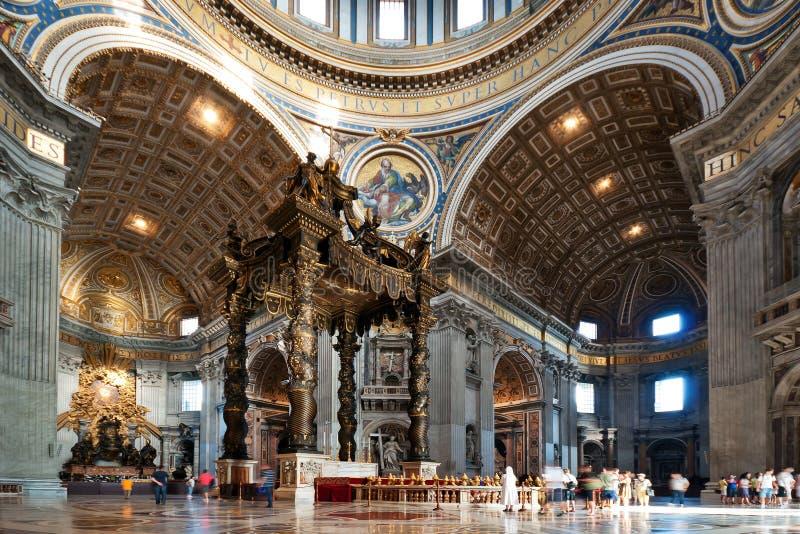 Basílica do St. Peter foto de stock