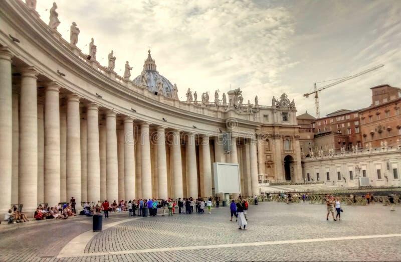 Basílica do St Peter fotos de stock