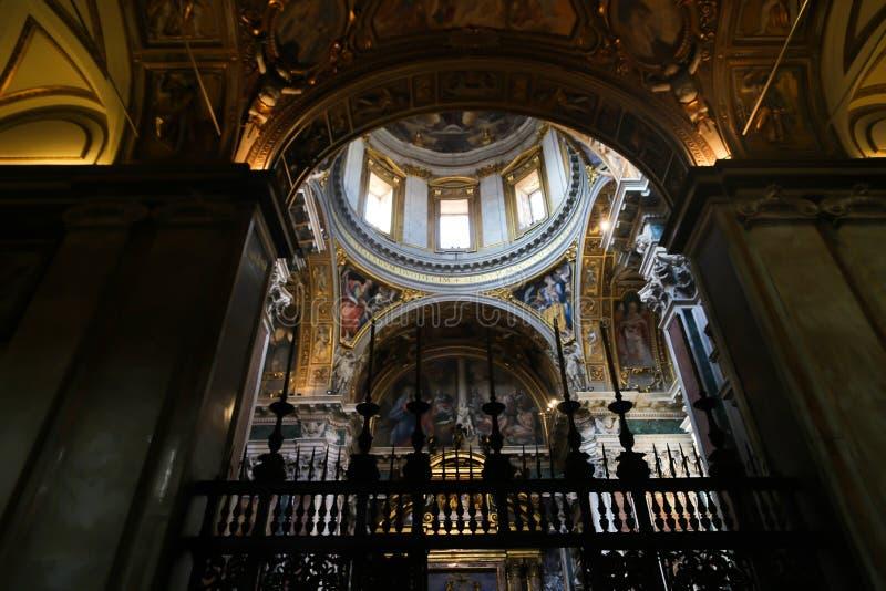 Basílica do St Petero, Vaticano foto de stock