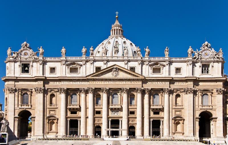 Basílica do St. Peters foto de stock