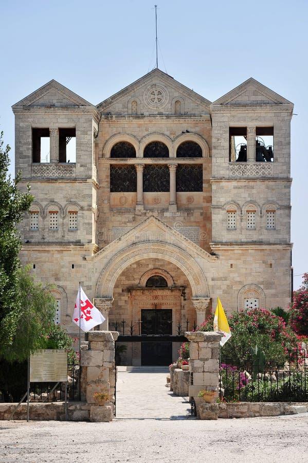 Basílica do Transfiguration fotografia de stock