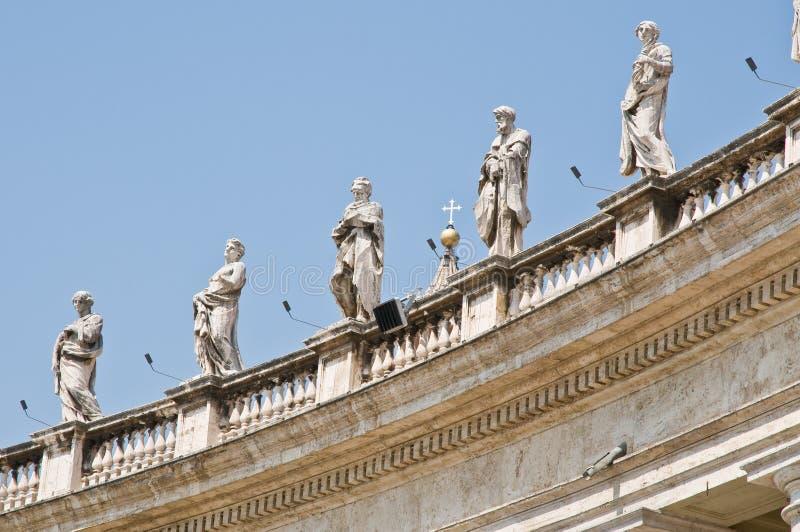 Basílica dos peters do St. foto de stock royalty free