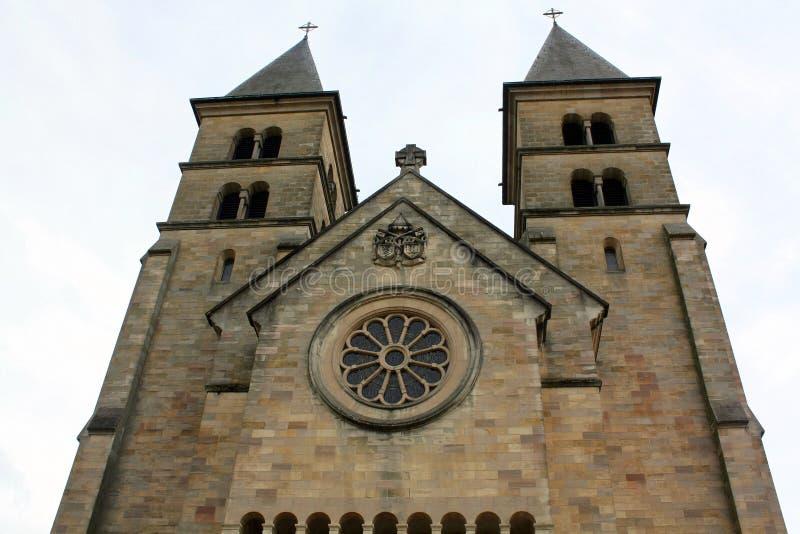 Basílica em Echternach fotografia de stock