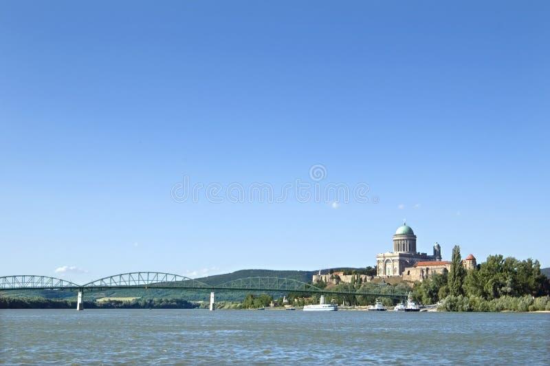 Basílica em Esztergom, Hungria fotografia de stock royalty free
