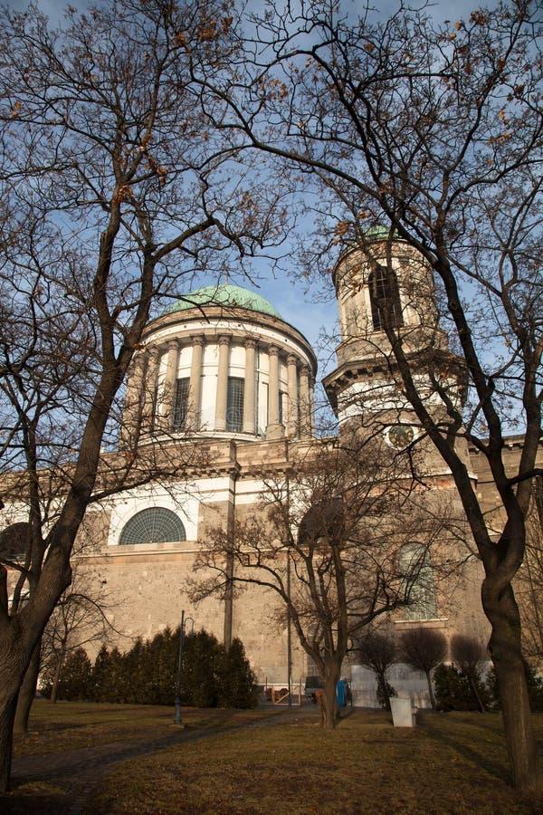 Basílica en Esztergom hungría foto de archivo libre de regalías