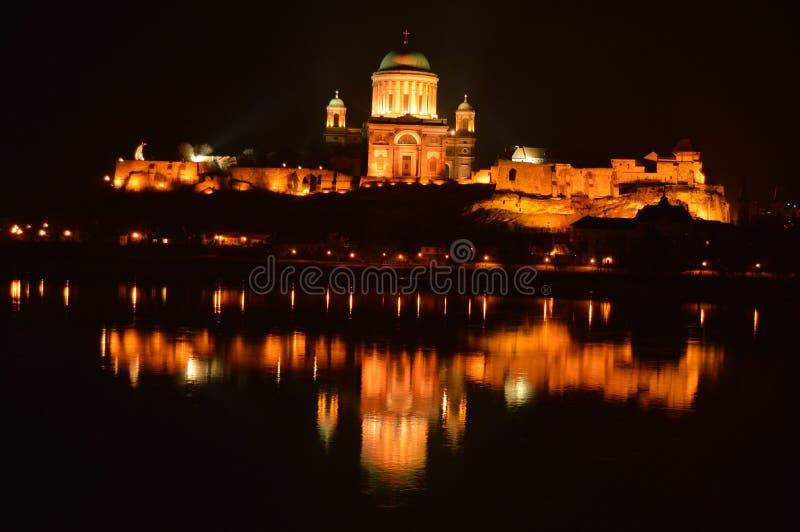Basílica en Hungría fotos de archivo