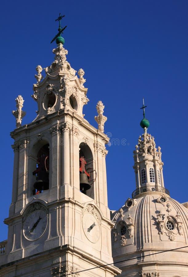 Basílica Estrela fotografía de archivo