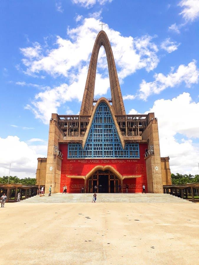Basílica Higuey foto de stock royalty free