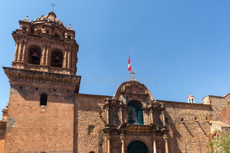 Basílica menor do La Merced em Cusco, Peru foto de stock royalty free