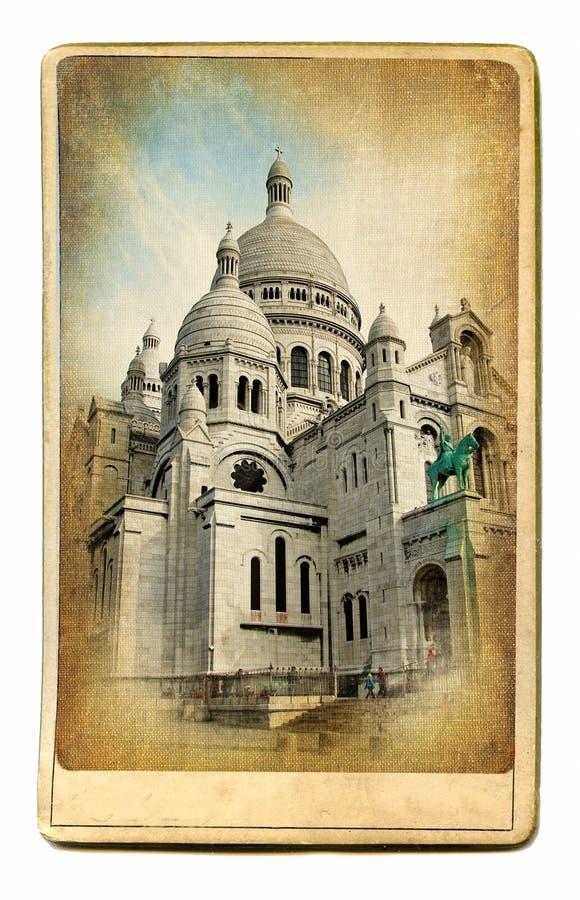 Basílica parisiense imagens de stock