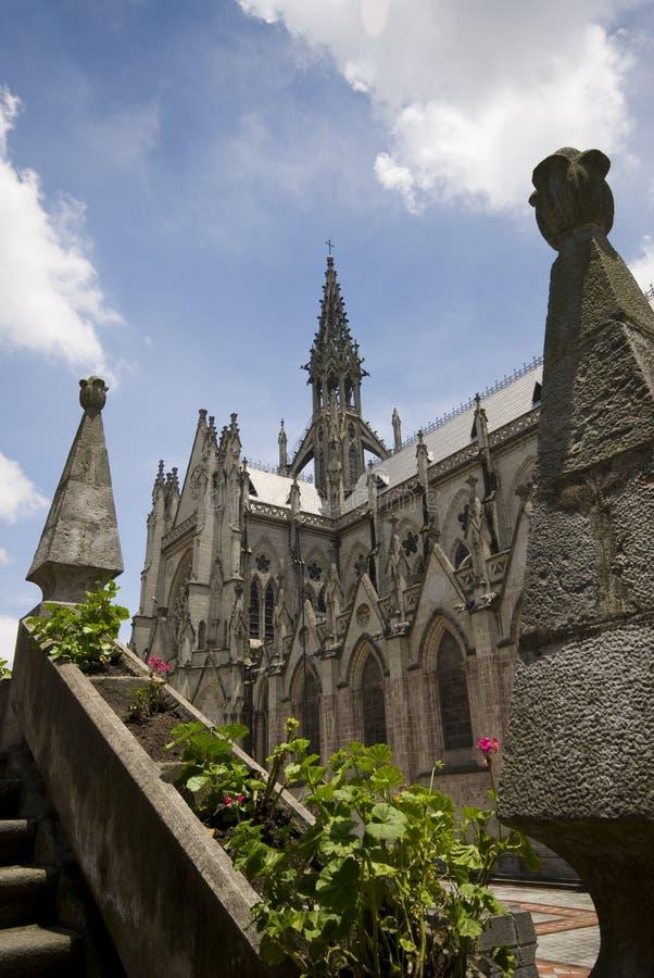 Basílica Quito Ecuador fotos de archivo