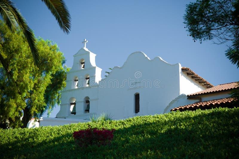Basílica San Diego de Alcala da missão fotografia de stock