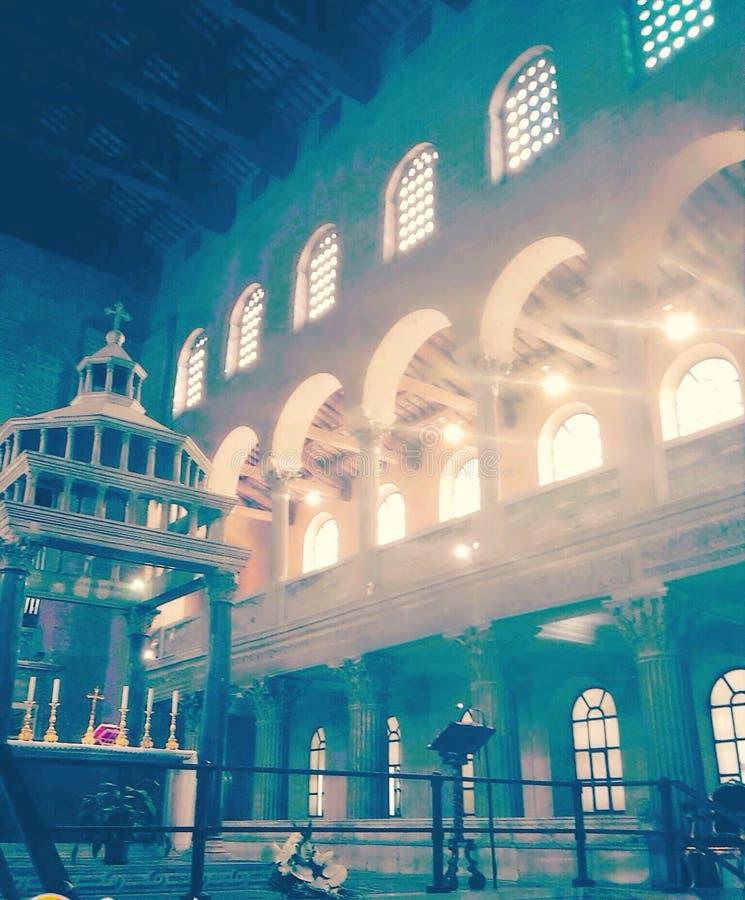Basílica San Lorenzo fotografia de stock