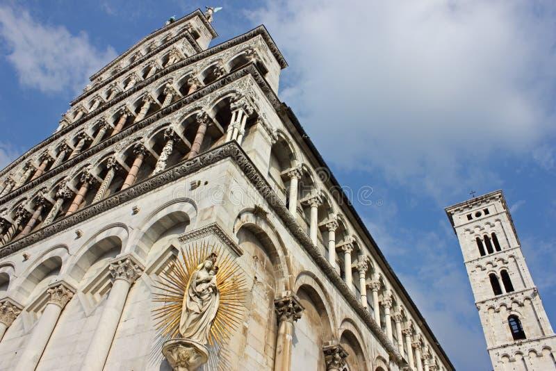 Basílica San Micaela de Luca en Foro fotos de archivo