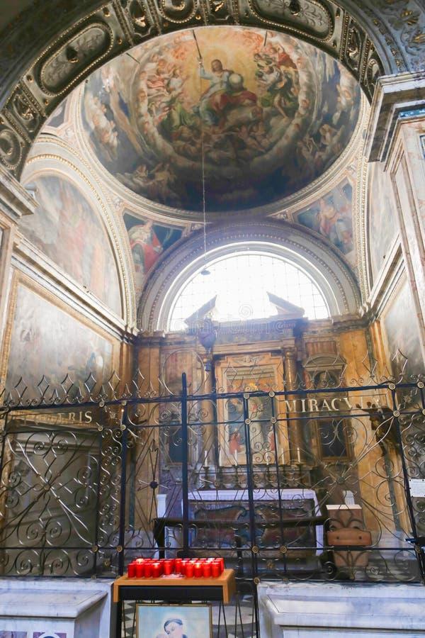 Basílica, Vaticano, Italia fotografía de archivo libre de regalías