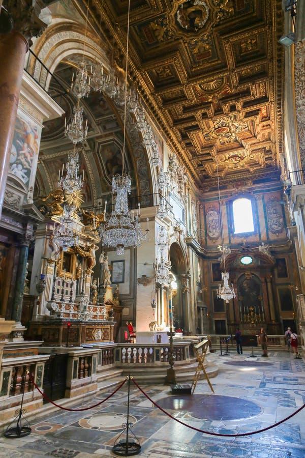 Basílica - Vaticano, Italia imágenes de archivo libres de regalías