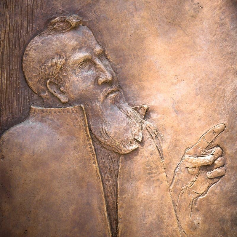 Bas-ανακούφιση του ST Peter στοκ φωτογραφία