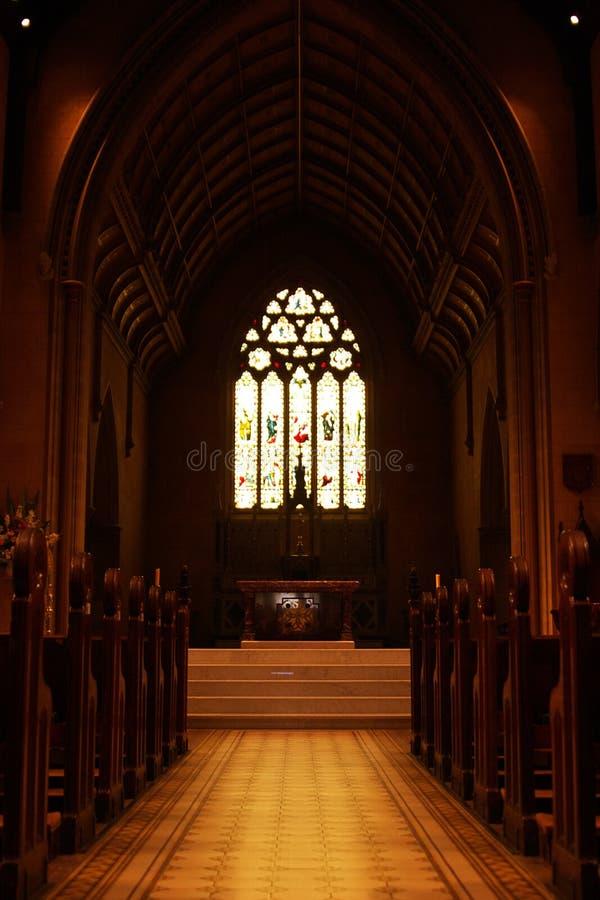 Bas-côté d'église images stock