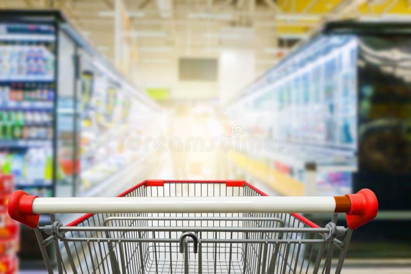 Bas-côté Hong Kong de supermarché image libre de droits