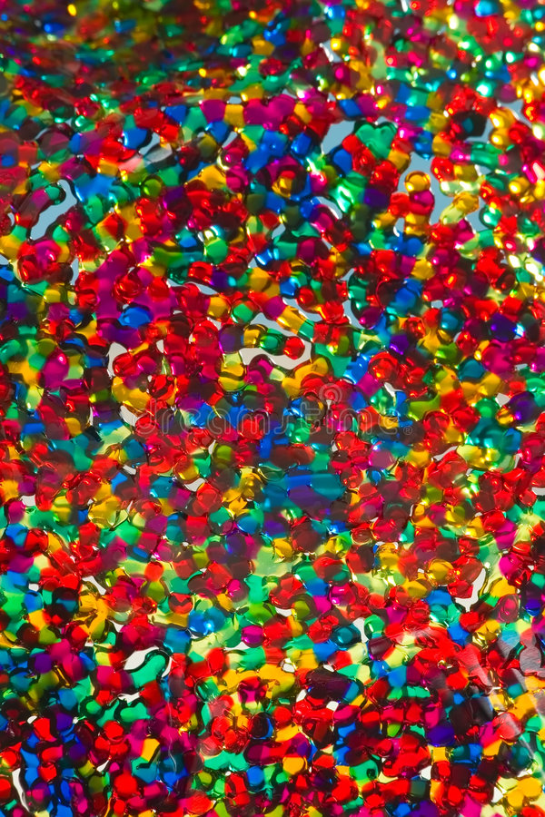 Bas coloré de glace photos libres de droits