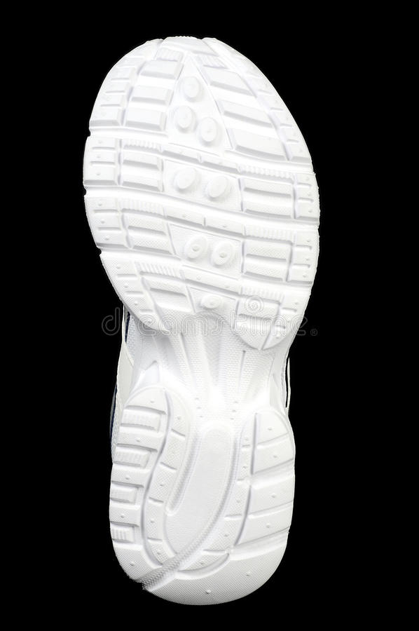 Bas de chaussure de sports photos libres de droits