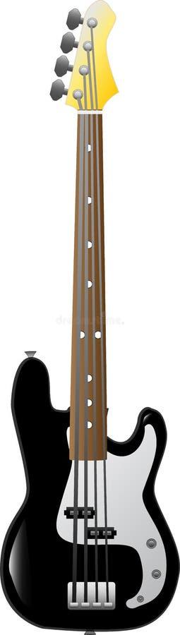 Bas-Gitarre lizenzfreie stockfotografie