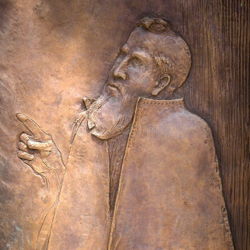 Bas-hulp van Heilige Peter stock afbeelding