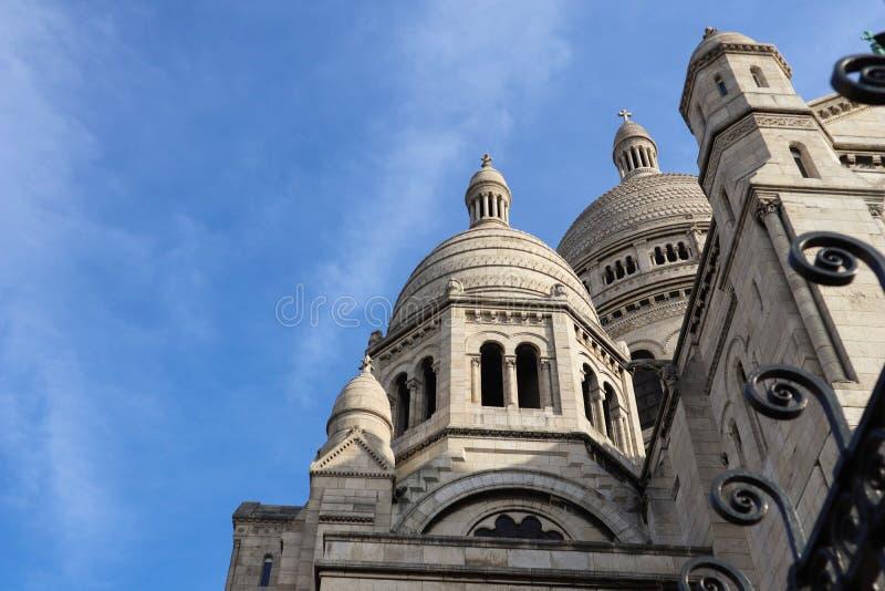 Bas?lica del coraz?n sagrado Sacre Coeur en Par?s Francia En abril de 2019 imagenes de archivo