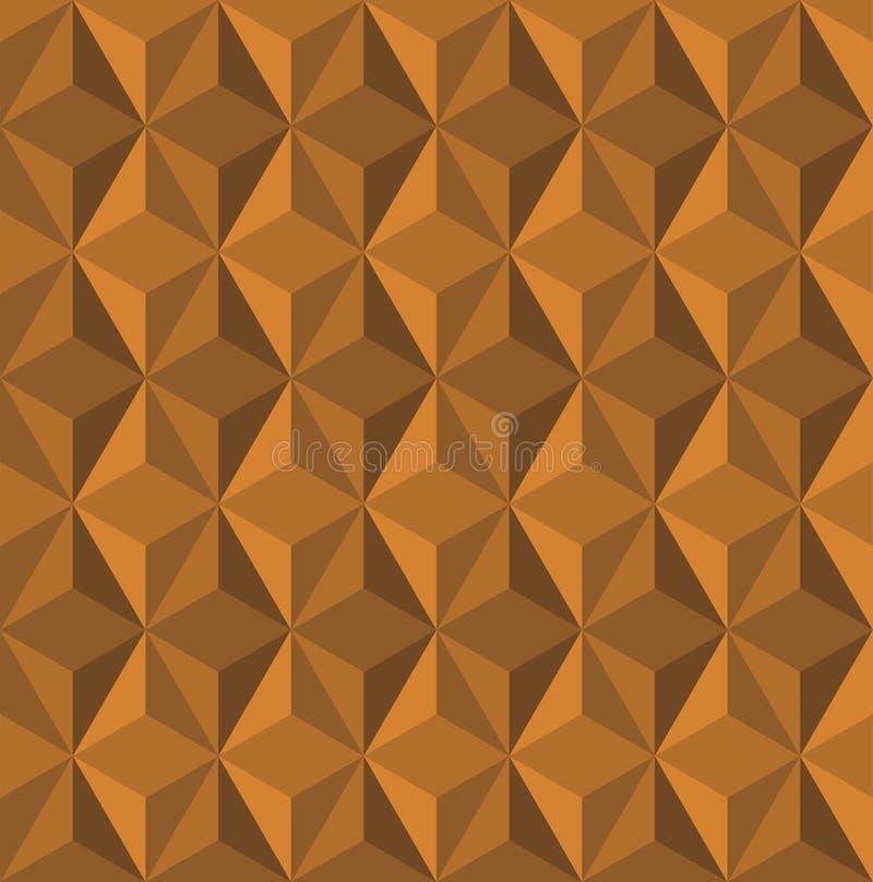 Bas poly fond de texture de triangle de résumé illustration libre de droits