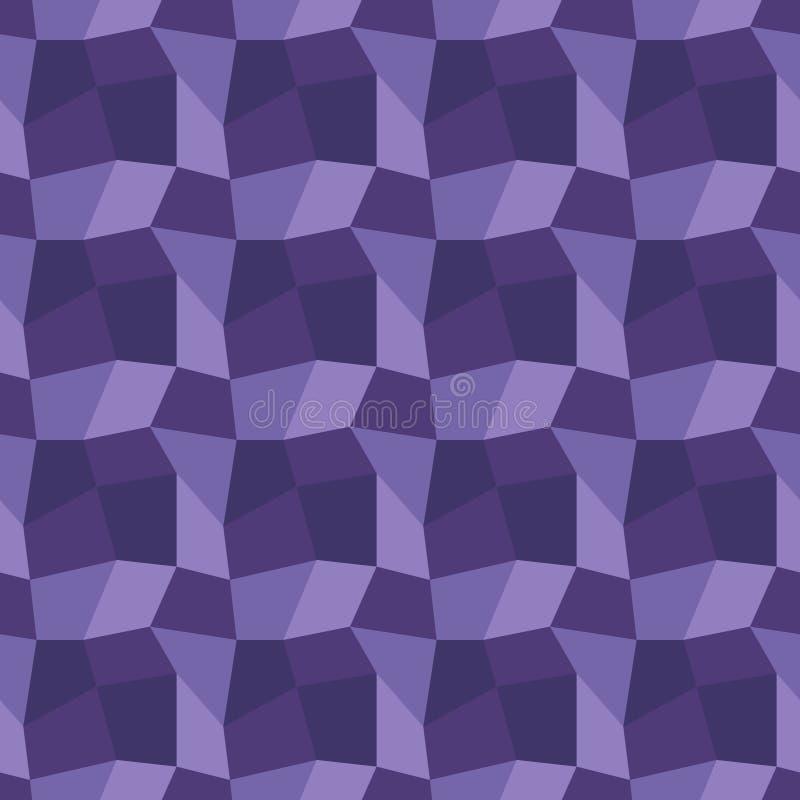 Bas poly fond sans couture géométrique illustration libre de droits