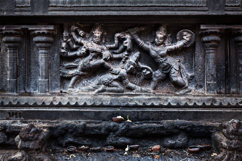 Download Bas Relief. Brihadishwara Temple, Tanjore Stock Image - Image: 27559925