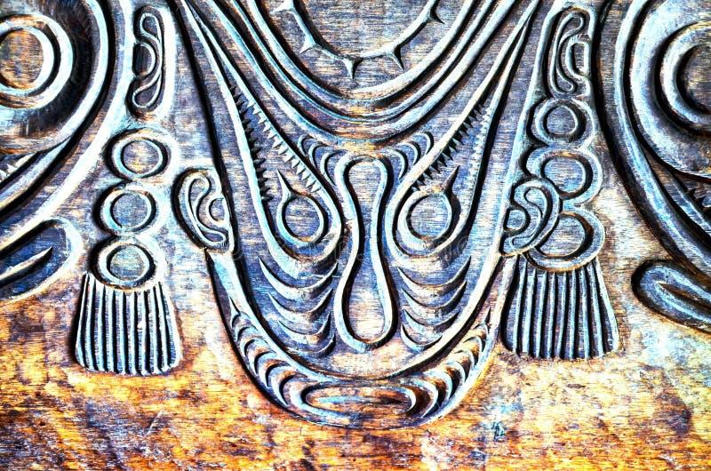 Bas Relief en bois d?coup? par antiquit? images libres de droits