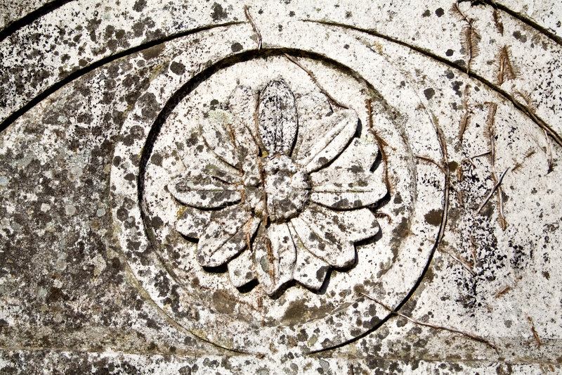 Bas-relief médiéval photographie stock