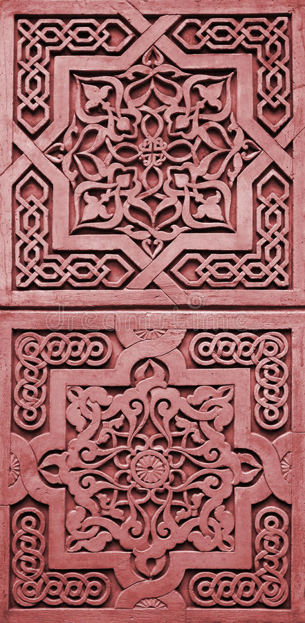 Download Bas-relief - Oriental Frame Stock Photo - Image: 19464474