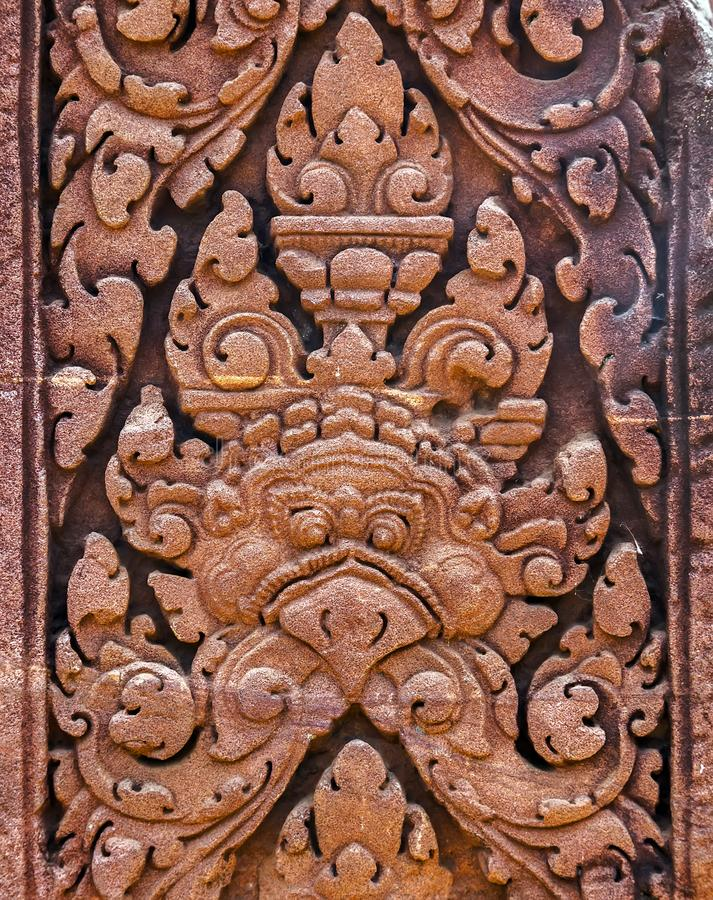 Free Bas-Relief Statue Background Of Khmer Culture In Angkor Wat, Cam Stock Image - 111233661